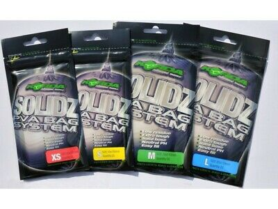 Korda Solidz Solid PVA Bags With Free Green Scoop • 3.99£