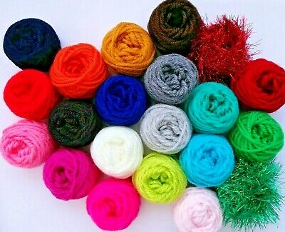 DK YARN Choose Shades PICK N MIX Double Knit SMALL 10 Meters Crochet Wool Craft • 0.99£