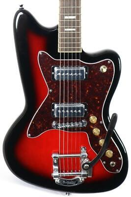 $ CDN631.73 • Buy Silvertone Classic 1478 Reissue Red Sunburst Electric Guitar W/ Bigsby Tremolo