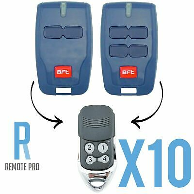AU120 • Buy 10 X To Suit BFT Mitto Compatible Garage/Gate Remote Type B RCB TX2/TX4/0678