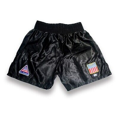 AU464.09 • Buy Mike Tyson Signed Boxing Shorts