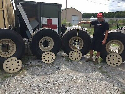 $1295 • Buy Sand Trail 450/80R20 Tire Military Tire Wheel Assembly, Lot Of 4