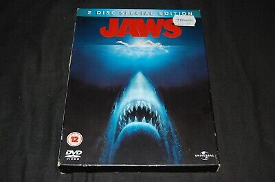 JAWS (DVD, 2005, 2-Disc Set) SPECIAL EDITION • 3.50£