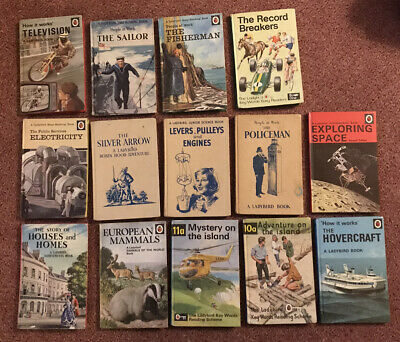 14 Early Ladybird Books - 1960's & 70's - Vintage Job Lot • 19.50£