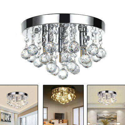 Chandelier Style Modern Ceiling Light Shade Pendant Crystal Bead Lights Lamps • 18.68£