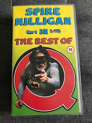 Spike Milligan In The Best Of Q - Vhs  • 5£