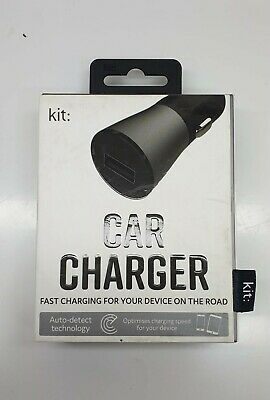 Kit Fast Car Charge For Android, Iphone, Ipod • 4.99£