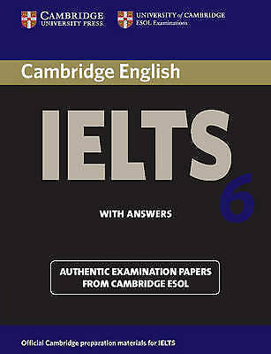 £5 • Buy Cambridge IELTS 6 Student's Book With Answers: Examination Papers From Universit