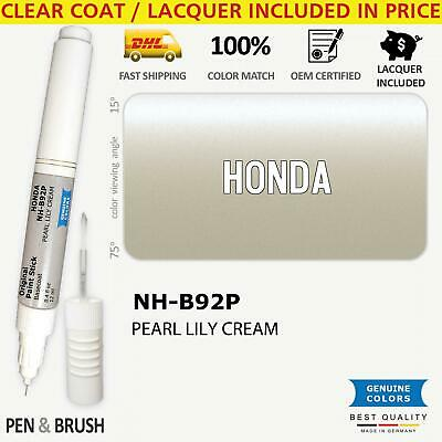 $ CDN15.35 • Buy NH B92P Silver Touch Up Paint For Honda PEARL LILY CREAM Pen Stick Scratch Chip