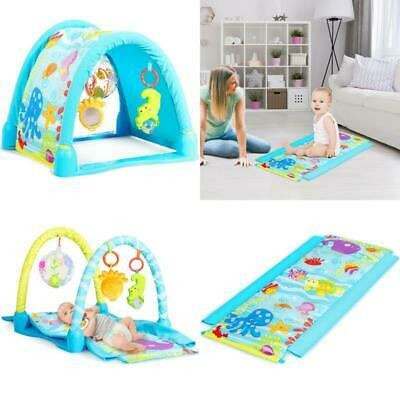 £32.67 • Buy Baby Play Gym Mat Hanging Toys Toddler Activity Play Yard Home Living Room Use