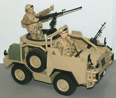 HM Armed Forces Jackal MWIMK Patrol Vehicle (With 2 Soldiers) • 42.50£