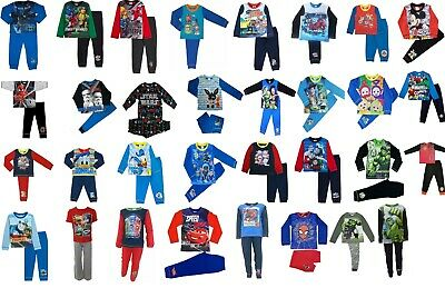 £4.99 • Buy Boys Character Pyjamas. Ages 12 Months To 10 Years. Official Licensed Designs