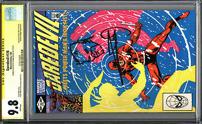 £399.41 • Buy Daredevil 178 CGC 9.8 SS Signed With SKETCH By Frank Miller WHITE PAGES