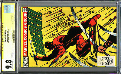 £247.79 • Buy Daredevil 189 CGC 9.8 SS Signed By Frank Miller Death Of Stick