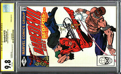 £217.86 • Buy Daredevil 173 CGC 9.8 SS Signed By Frank Miller WHITE PAGES