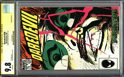 £217.86 • Buy Daredevil 228 CGC 9.8 SS Signed Frank Miller WHITE PAGES Born Again