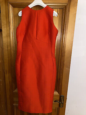 £18.50 • Buy Womens ASOS Backless Dress With Bow Detail In Red Size 14