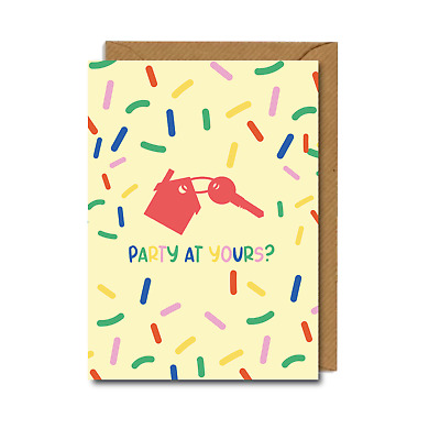 CUTE Funny NEW HOME House Warming CARD Friend Sister  • 2.75£