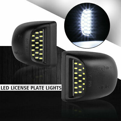 $11.99 • Buy Clear White LED License Plate Light Housing Lamp For 2000-06 Chevy Tahoe /GM-C