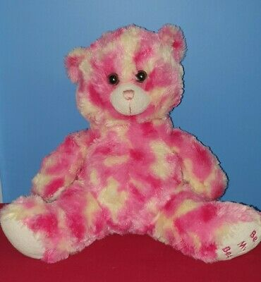 Be My Bear 10  Pink And Cream Soft Toy Bear With  I Love You  Voice Box • 10.99£