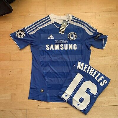 Chelsea 2012 Champions League Final Jersey Size Extra Large(XL) Meireles 16 BNWT • 35£