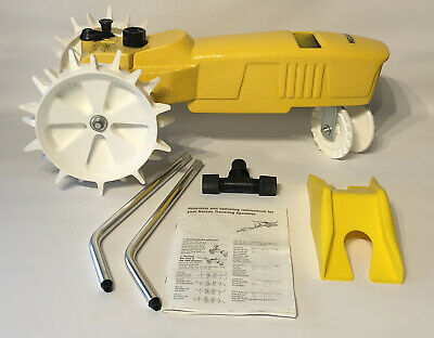 AU58.85 • Buy Yellow NELSON Cast Iron Traveling TRACTOR Yard Water SPRINKLER Raintrain