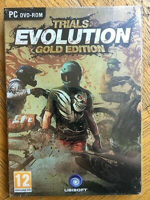 Trials Evolution Gold Edition Inc Soundtrack - PC UK Version Sealed! • 5.98£