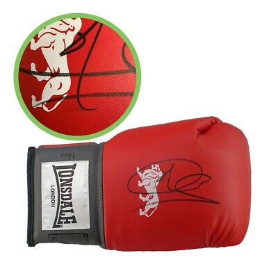 AU148.06 • Buy Joe Calzaghe Signed Boxing Glove. Damaged Stock A