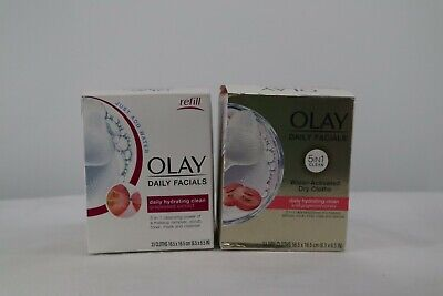 AU19.30 • Buy Olay Daily Facials Hydrating Cleansing Cloths,33 Count - Lot Of 2