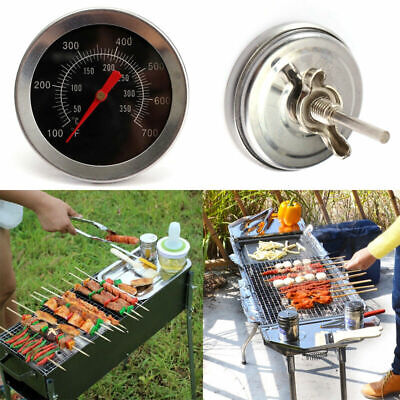 BBQ Pit Smoker Grill Thermometer Dial Temperature Gauge Fahrenheit Celsius New • 2.84£
