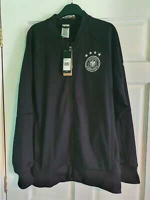 Adidas 2016 Men's Germany Anthem Track Jacket Track Top DFB Black AC6694 LARGE • 59£