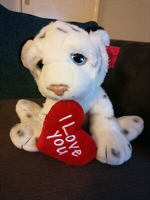 Keel Toys Adoptable Tiger I Love You Teddy • 2.50£