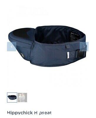 Hippychick Hipseat Hip Carrier Black Great Condition Child Baby Toddler • 9.50£