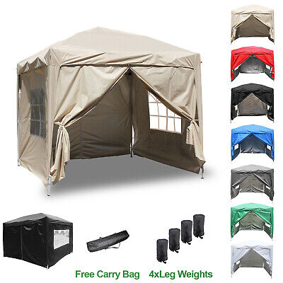 £134.99 • Buy Gazebo Pop-up Marquee Canopy Garden Wedding Party Tent Water-Resistant 3 Size