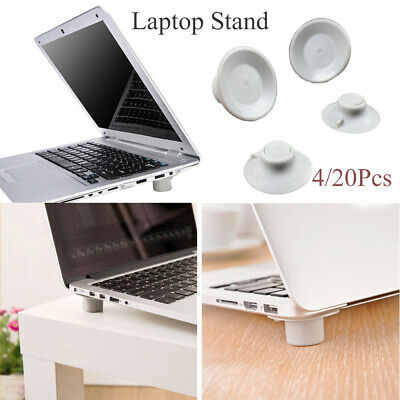4/20Pcs Laptop Notebook Heat Reduction Pad Cooling Feet Cooler Stand Holder UK • 3.54£