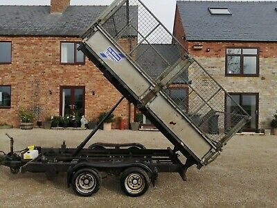 Used Ifor Williams Tipping Trailer 10 By 5.6ft • 4,750£