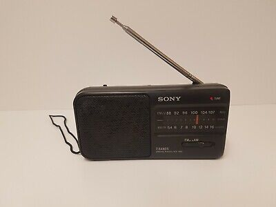 Sony Portable Radio ICF-390 Battery Powered AM/FM • 13.99£