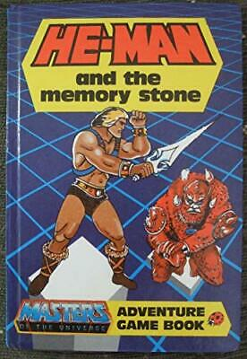 He-man And The Memory Stone (Adventure Game Book), Hurt, Roger & Kingsley, Jason • 3.48£