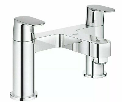 Grohe Eurosmart Cosmopolitan Two Handles Bath Shower Tap Deck Mounted Two Hole • 70£