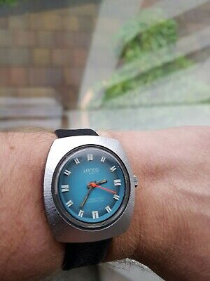 VERY RARE! Vintage Lanco Fibreglass Space Age Watch, Working Order...LOOK! • 75£
