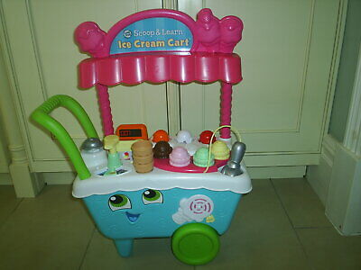 LeapFrog / Leapster 600700 Scoop & Learn Ice Cream Cart Xmas Toy Great Condition • 25£
