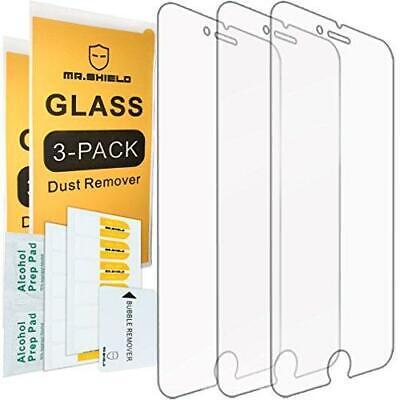 $9.59 • Buy Mr.Shield [3-Pack] For IPhone 7 Plus/iPhone 8 Plus [Tempered Glass] Screen