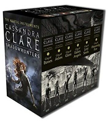 Cassandra Clare The Mortal Instruments Series 6 Books Boxset Young Adult NEW • 17.99£