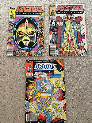 $9.09 • Buy Masters Of The Universe #3 And #4 Star Comics Bonus Star Wars Droids #4 1986