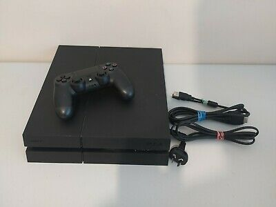 AU279 • Buy Sony PS4 PlayStation 4 Black 1TB Console + Controller