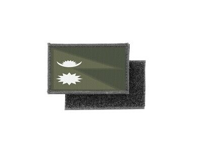 Patch Printed Camo Camouflage Badge Flag Nepal • 4.60£
