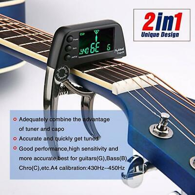 $ CDN18.23 • Buy Folk Acoustic Guitar Capo Electronic Tuner Combo Guitar Accessories Tuner 10%OFF