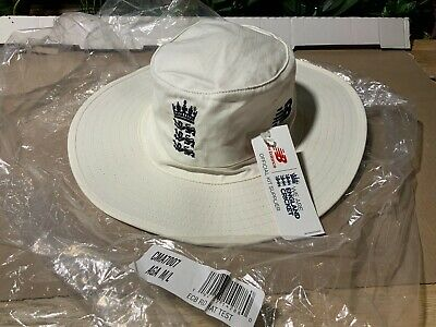 New Balance Men's Ecb Round Hat Test Cricket Replica England M/l New  • 16.99£