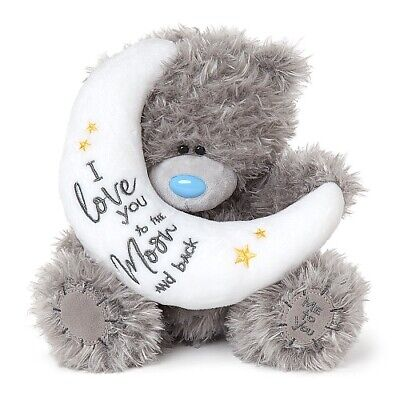 Me To You - 9  I Love You To The Moon And Back - Tatty Teddy Bear AP901088 • 15.99£