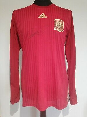 £150 • Buy Spain Home Player Issue Spec Adizero Shirt Signed By Fernando Torres Guarantee